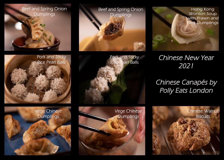 Chinese New Year 2021 Menu Canapes