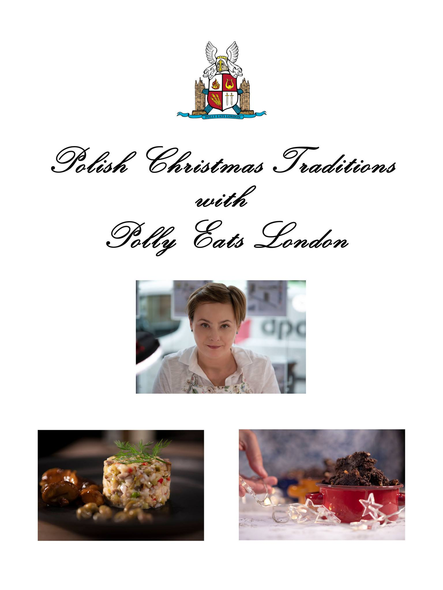 Polish Christmas traditions with Polly Eats London