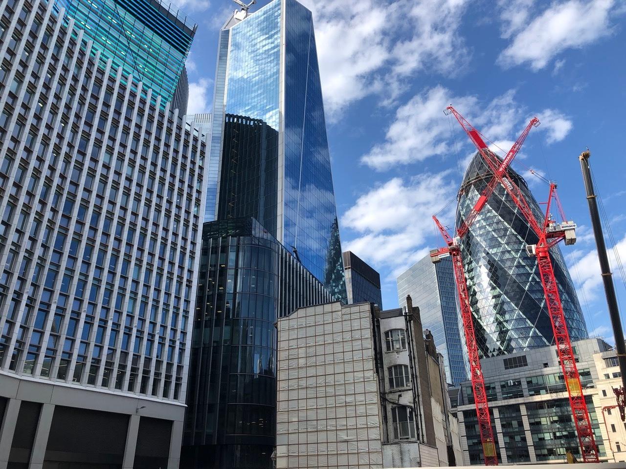 Skyscrapers & Gherkin copy